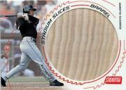 2003 Stadium Club Stadium Slices Barrel Relics #RA Roberto Alomar