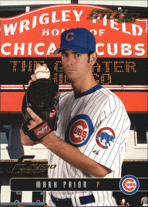 2003 Studio Proofs #111 Mark Prior