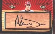 2003 Sweet Spot Signatures Barrel #AD Adam Dunn/345