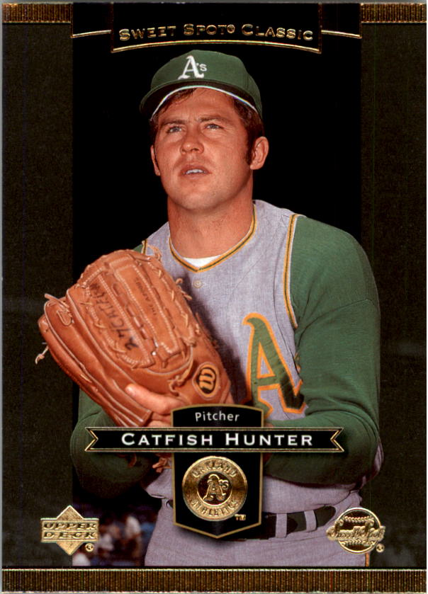 2003 Sweet Spot Classics #12 Catfish Hunter