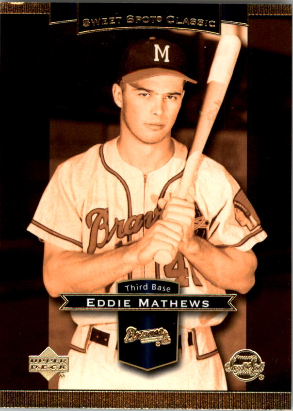 2003 Sweet Spot Classics #28 Eddie Mathews