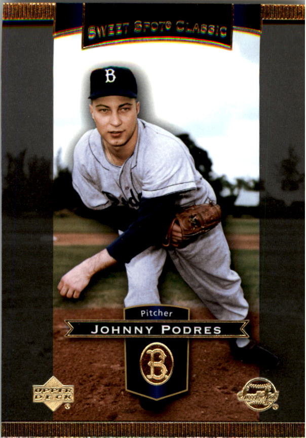 2003 Sweet Spot Classics #48 Johnny Podres