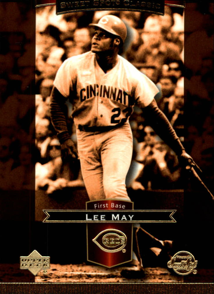2003 Sweet Spot Classics #56 Lee May front image
