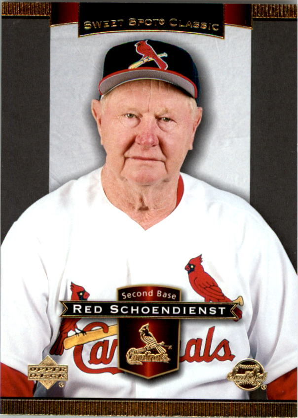2003 Sweet Spot Classics #70 Red Schoendienst