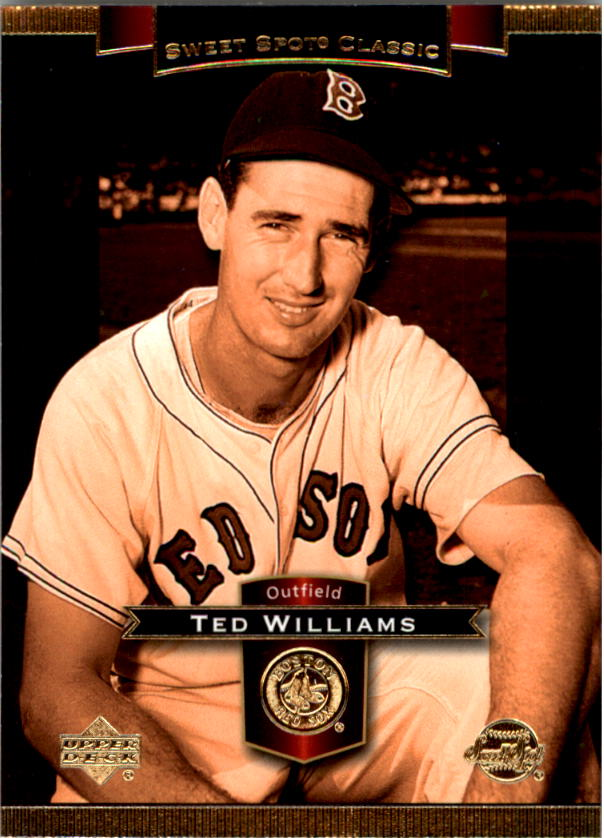 2003 Sweet Spot Classics #82 Ted Williams