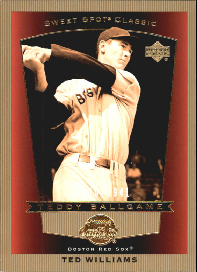 2003 Sweet Spot Classics #92 Ted Williams TB