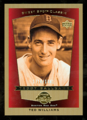 2003 Sweet Spot Classics #97 Ted Williams TB