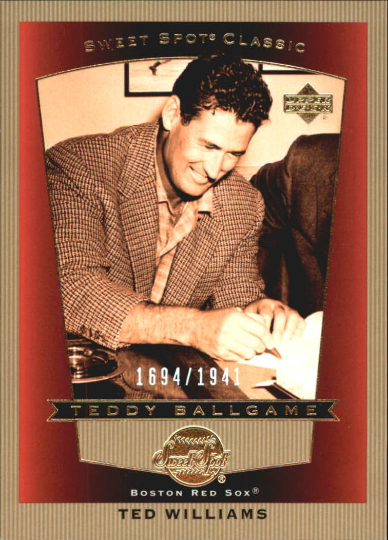 2003 Sweet Spot Classics #99 Ted Williams TB