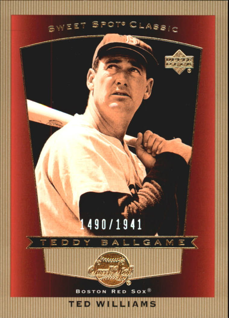 2003 Sweet Spot Classics #103 Ted Williams TB