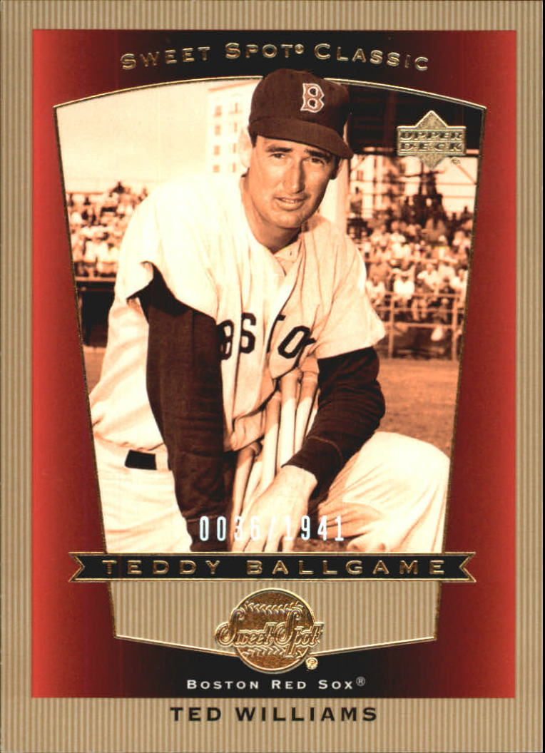 2003 Sweet Spot Classics #104 Ted Williams TB