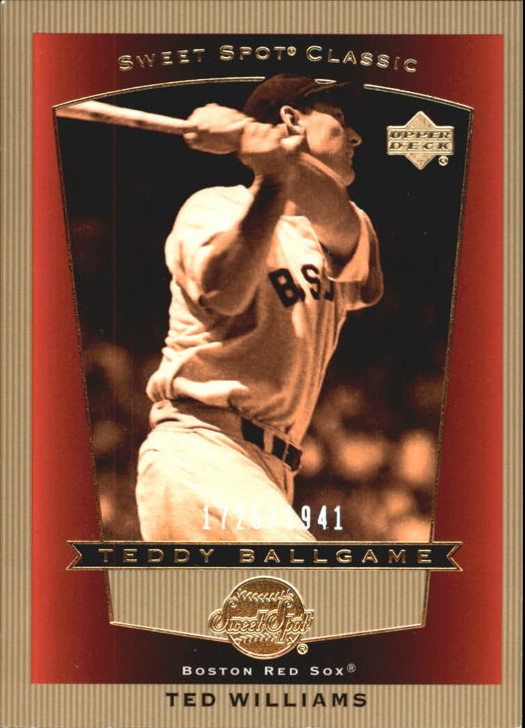 2003 Sweet Spot Classics #106 Ted Williams TB