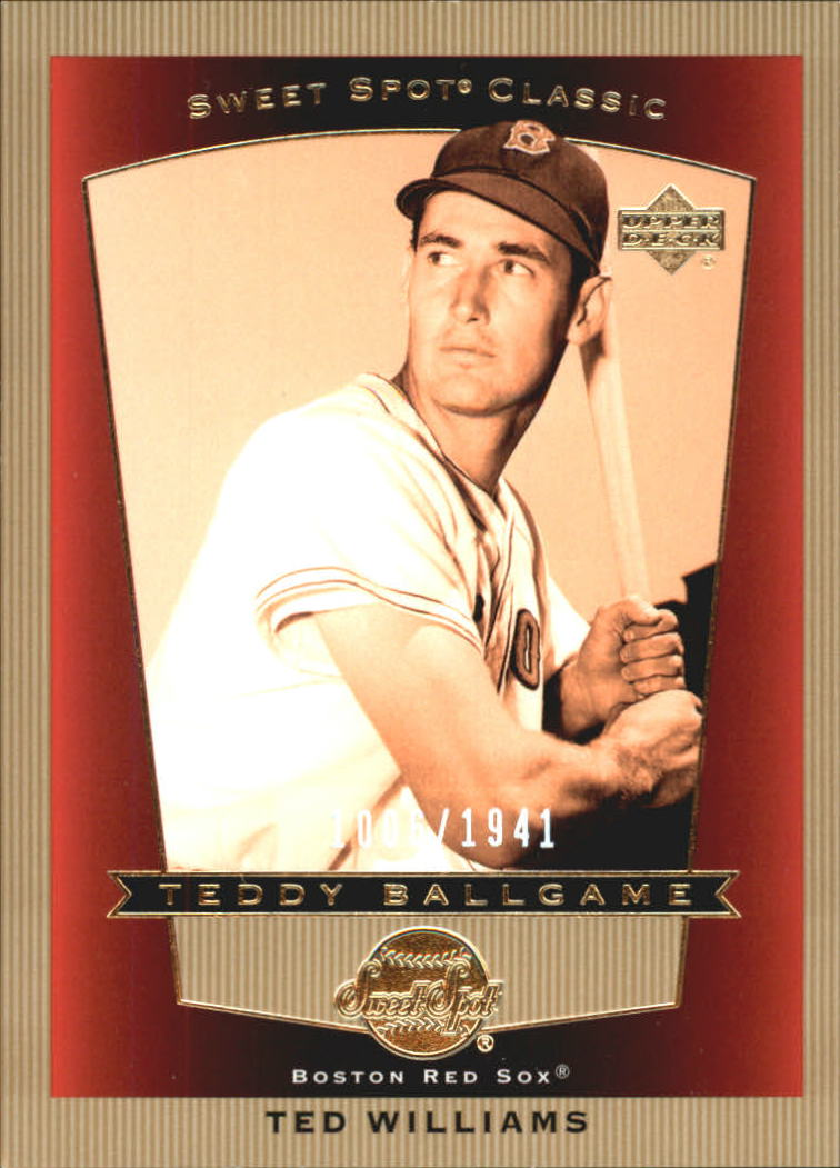 2003 Sweet Spot Classics #107 Ted Williams TB
