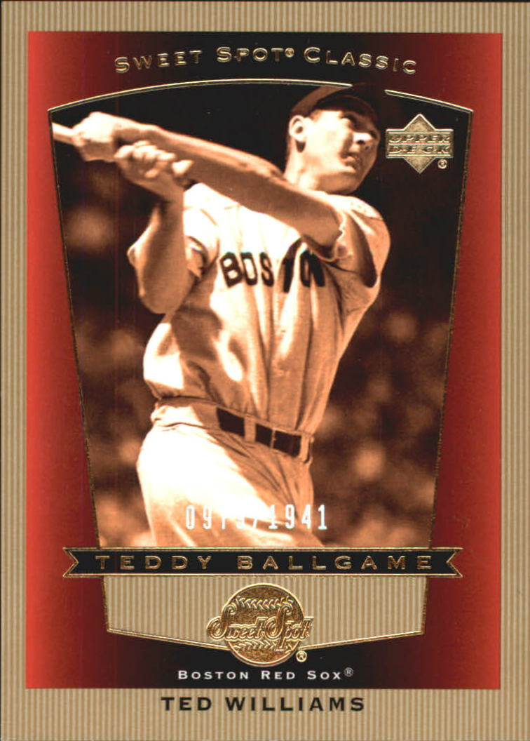 2003 Sweet Spot Classics #110 Ted Williams TB