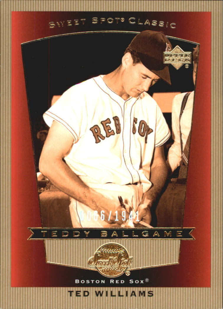 2003 Sweet Spot Classics #112 Ted Williams TB