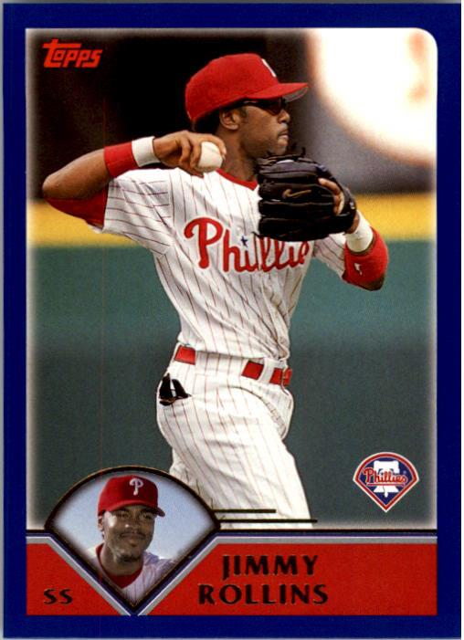 2003 Topps #3 Jimmy Rollins