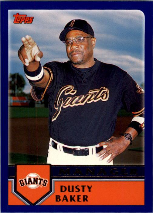 2003 Topps #286 Dusty Baker MG