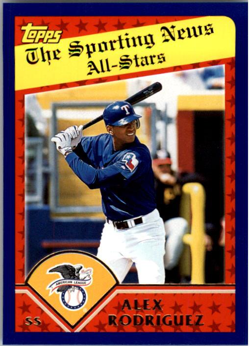 2003 Topps #358 Alex Rodriguez AS