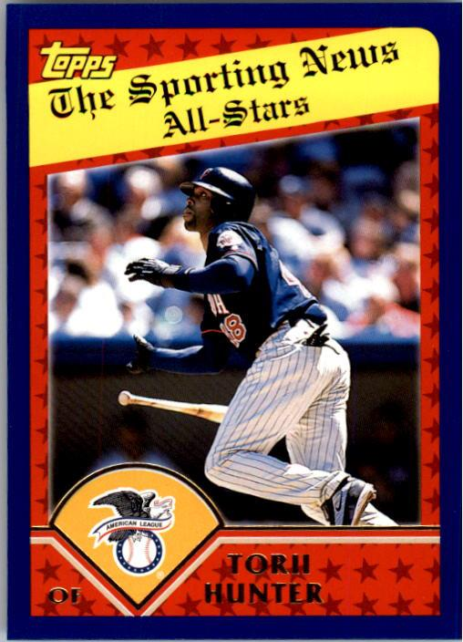 2003 Topps #360 Torii Hunter AS