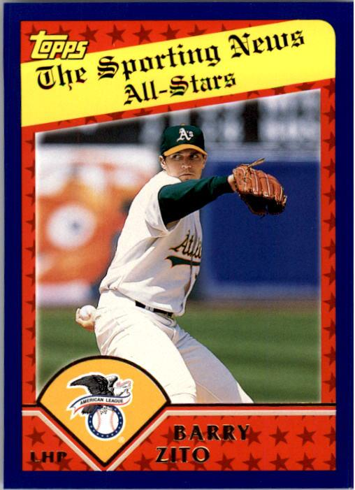 2003 Topps #365 Barry Zito AS