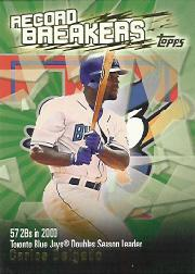 2003 Topps Record Breakers #CD2 Carlos Delgado 2