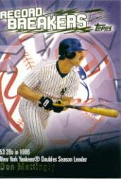 2003 Topps Record Breakers #DM Don Mattingly 1