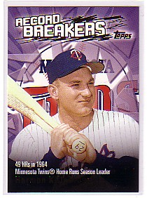 2003 Topps Record Breakers #HK Harmon Killebrew 1