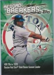 2003 Topps Record Breakers #JR Jim Rice 2