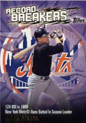 2003 Topps Record Breakers #MP Mike Piazza 1