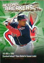2003 Topps Record Breakers #MR Manny Ramirez 2