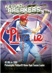 2003 Topps Record Breakers #MSC Mike Schmidt 1