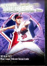2003 Topps Record Breakers #NR Nolan Ryan 1