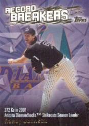 2003 Topps Record Breakers #RJ1 Randy Johnson 1