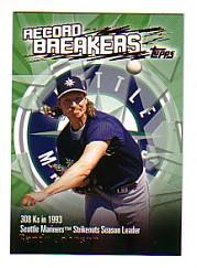 2003 Topps Record Breakers #RJ2 Randy Johnson 2