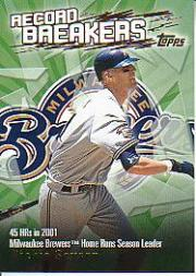 2003 Topps Record Breakers #RS1 Richie Sexson 1