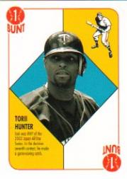 2003 Topps Red Backs #26 Torii Hunter
