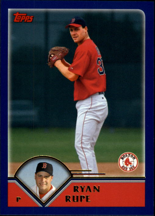 2003 Topps Traded #T19 Ryan Rupe