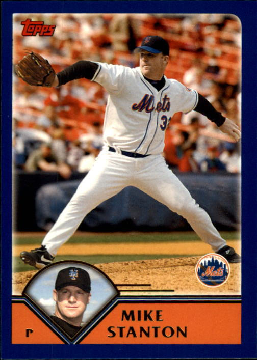 2003 Topps Traded #T22 Mike Stanton