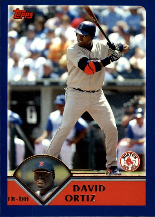 2003 Topps Traded #T52 David Ortiz Sox
