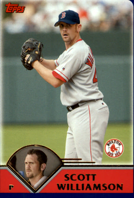 2003 Topps Traded #T114 Scott Williamson