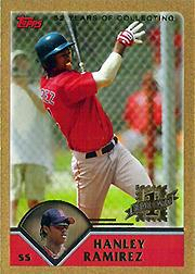 2003 Topps Traded Gold #T181 Hanley Ramirez FY