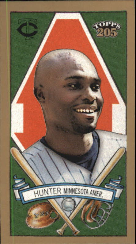 2003 Topps 205 Polar Bear #56 Torii Hunter