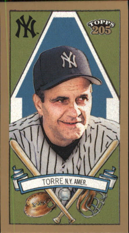 2003 Topps 205 Polar Bear #82 Joe Torre MG