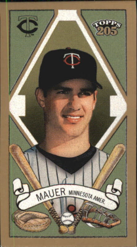 2003 Topps 205 Polar Bear #125 Joe Mauer PROS