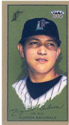 2003 Topps 205 Polar Bear #246 Miguel Cabrera