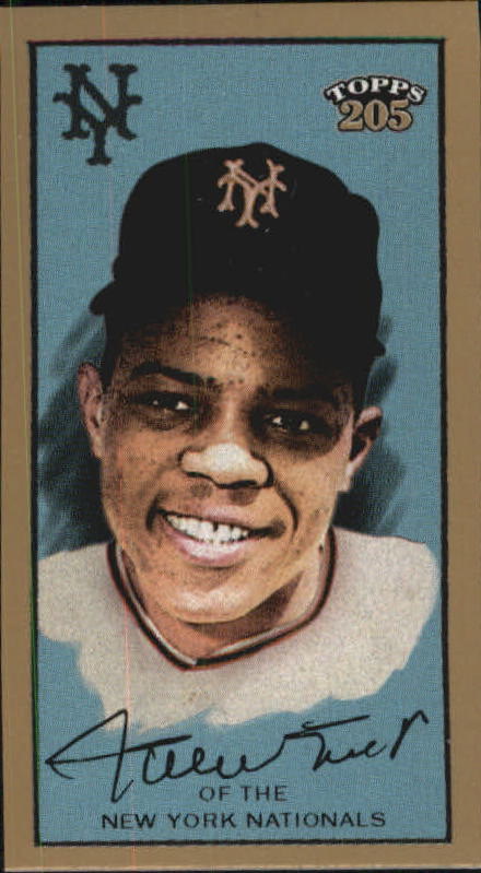 2003 Topps 205 Polar Bear Exclusive Pose #316 Willie Mays EP