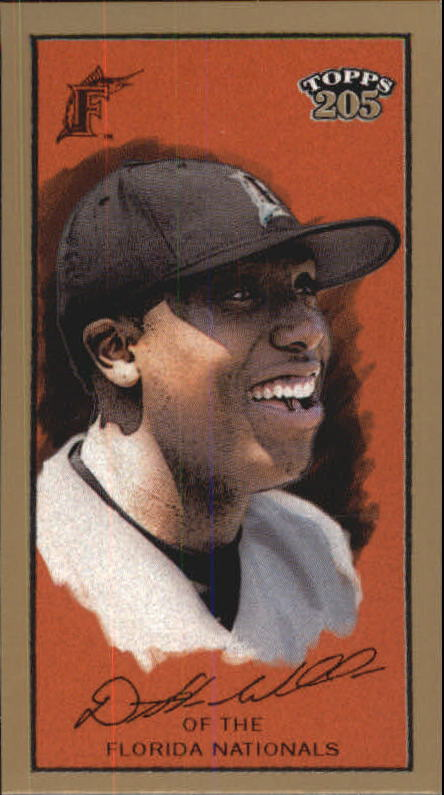 2003 Topps 205 Polar Bear Exclusive Pose #335 Dontrelle Willis EP