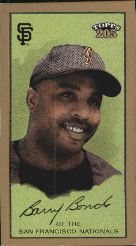 2003 Topps 205 Sovereign #1A Barry Bonds w/Cap