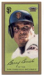 2003 Topps 205 Sovereign #1B Barry Bonds w/Helmet