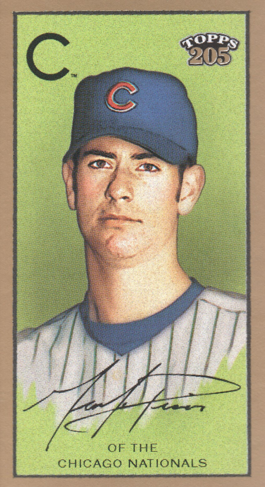 2003 Topps 205 Sovereign #88A Mark Prior New Logo