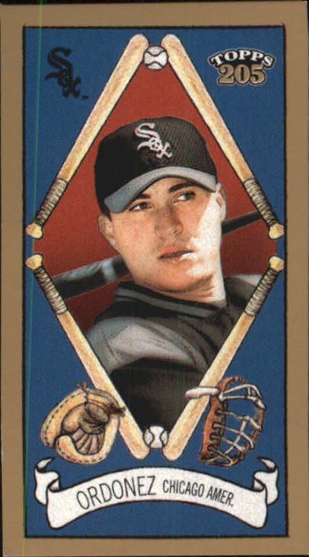 2003 Topps 205 Sovereign Green #34 Magglio Ordonez
